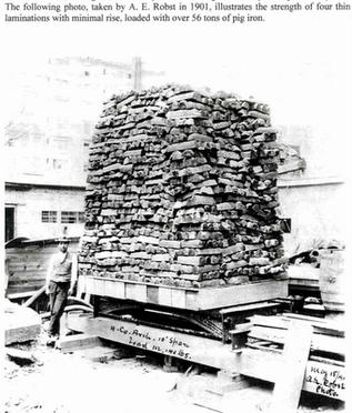 Prueba de carga de Guastavino, 56 Ton