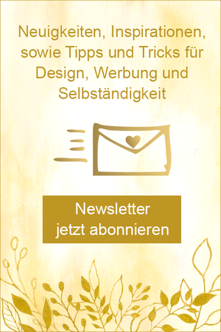 """Trage dich jetzt ein für den Newsletter """"DesignerBriefe mit Herz"""""""