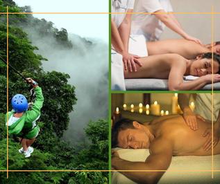 Precio especial canopy y masaje