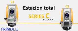 estaciones totales serie c de trimble c3 c5
