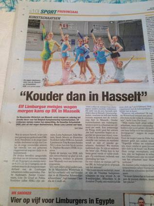 Kunstschaatsen Belgisch Kampioenschap