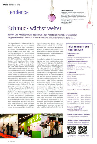 Presseveröffentlichung - FZ - Tendence 2012