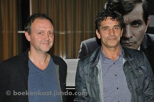 Robby Cleiren en Koen De Bouw tijdens de première in Siniscoop Sint-Niklaas