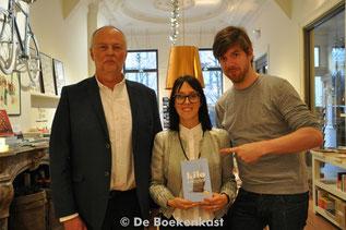 Mark Nelissen, An Bogaert en Bart Cannaerts