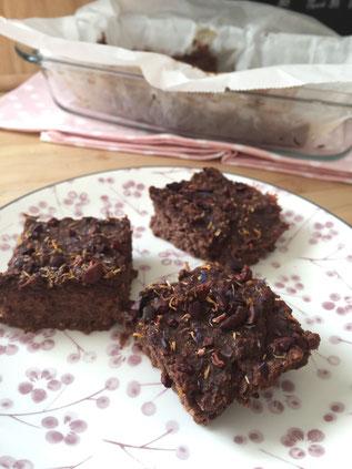 zuckerfreie und glutenfreie Rote Rüben Brownies