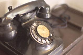創業当初は自宅の電話を使っていた