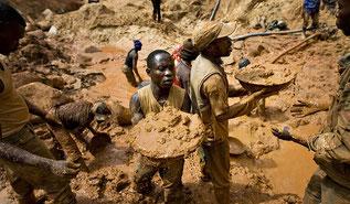 Sfruttamento minerario nella Repubblica Democratica del Congo