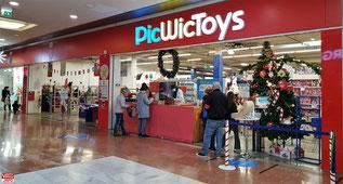 PicWicToys du centre commercial Westfield Vélizy 2.