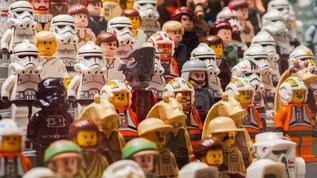 Lego Figuren Tribüne