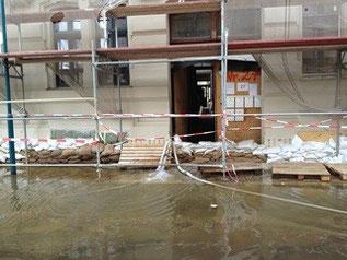 Wasserschaden Bautrocknung