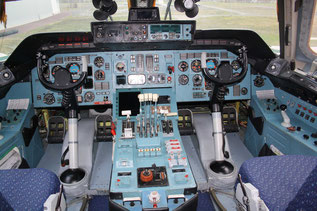 The flight deck of today's fleet of An-124-100s as displayed here…