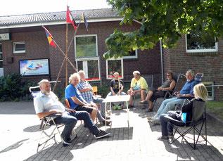 Mitglieder des ehemaligen Stammes Scana trafen sich in Schenefeld