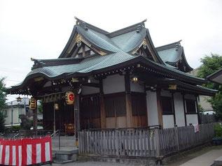 鵜ノ木八幡神社の社殿