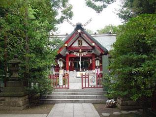 徳持神社の拝殿