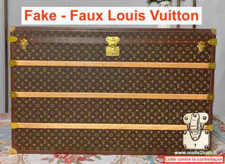 Fake A+ trunk Louis Vuitton russia china