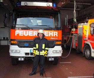 Hospitation Feuerwehr 2012