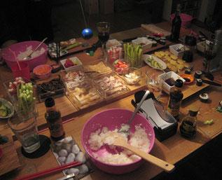 Sushi-Werkstatt 2013/2014