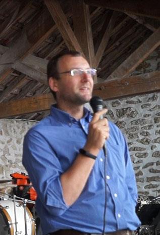 Nicolas Diédic, président du SISSC et délégué à la CARCT.