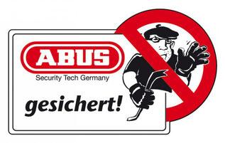 Halt STOP..., Hier kommt Ihr nicht rein... Wir sind Abus gesichert # Schützen Sie Ihr Heim...