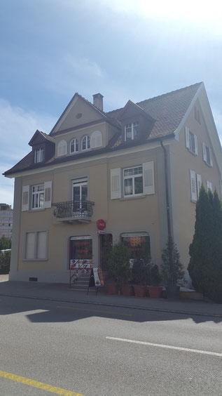 Mineralisch verputzte Fassade in Kreuzlingen