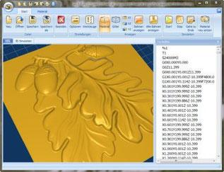 3D Simulation Easy3dSim für G-Code Dateien