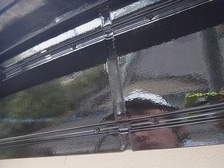 熊本市K様家の破風板塗装ブラック光沢仕上げ。
