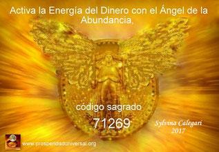 ACTIVA LA ENERGÍA MAGNÉTICA DEL DINERO EN ABUNDANCIA Y ÉXITO- CÓDIGO SAGRADO 71269 - ÁNGEL DE LA ABUNSANCIA- EJERCITACIÓN GUIADA