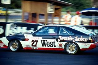 24h de Spa-Francorchamps 1985 & Jermaine Jackson