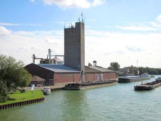 Hafenanlage der Fa. Kanalumschlag Bohmte GmbH