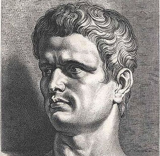 Marcus Iunius Brutus - einer der Mörder Caesars