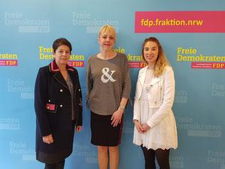 von links nach rechts: Beate Rohr-Sobizack, Susanne Schneider, Anna Krüger