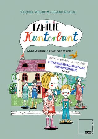 Buchcover Familie Kunterbunt