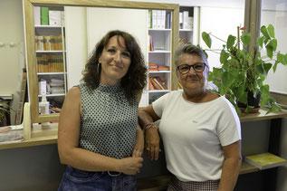 Aurore et Geneviève