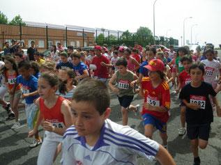 Carrera Escolar Valdebernardo 2012