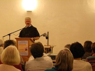 P. Christoph referierte in Ingolstadt über die Sehnsucht