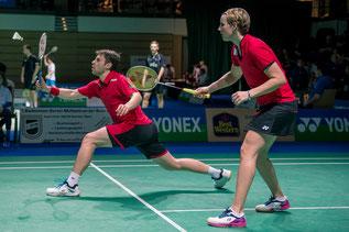 Fuchs/Michels mit guter Leistung trotz Niederlage            (Bild: Bernd Bauer)