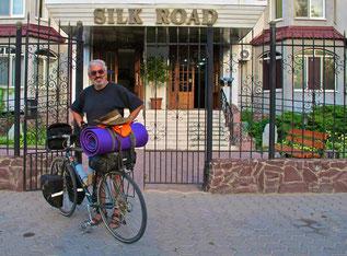 gesund und ohne Panne erreichte ich Bishkek