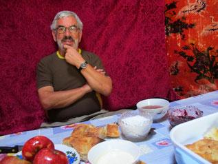 Frühstück in der Jurte - eine bleibende Erinnerung
