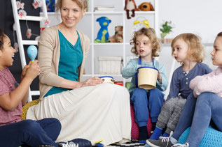 Musikalische Früherziehung, Kindergarten Gänseblümchen