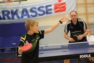 Promberger (vorne) - Andre Ortmann (hinten)