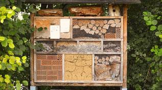 Hotel für Insekten