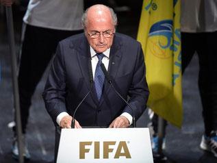 Joseph Blatter hat den Kongress des Fußball-Weltverbands auch mit besorgten Worten eröffnet. Foto: Walter Bieri
