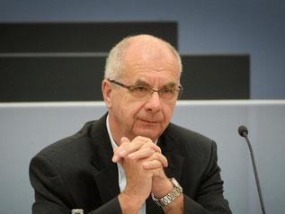 Siegfried Stumpf, ehemaliger Stuttgarter Polizeipräsident. Foto: F.Kraufmann/Archiv