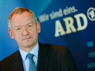Der ARD-Vorsitzende Lutz Marmor. Foto: Arne Dedert/Archiv