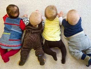 Eltern klagen, weil sie keinen Platz für ihr Kind bekamen. Foto: P. Pleul/Archiv