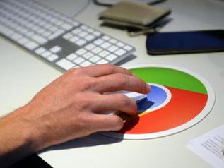 Wer Googles Browser Chrome nutzt, der kann sich über Angriffe auf sein Konto informieren lassen. Foto: Britta Pedersen