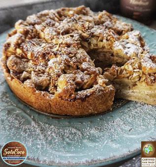 Wie Omas Rezept für einen Apfel Streusel Kuchen mit SoloCoco