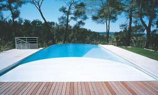 volet roulant piscine Toulouse immergé