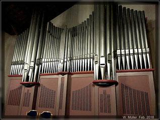 Orgelpfeifen der Nicolai-KIrche  Foto:W. Müller
