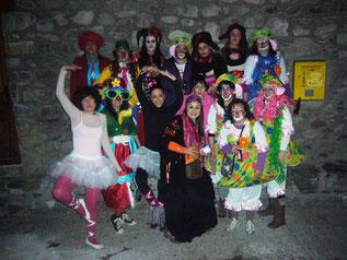 Carnavales en San Juan de Plan.